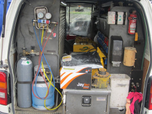 Mobile Auto Electrician Van Rear